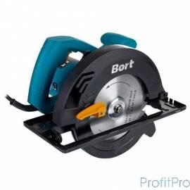 Bort BHK-160U Пила циркулярная [93727215] 1200 Вт, 5300 об/мин, 165 мм, 20мм, 3.5 кг, набор аксессуаров 4 шт