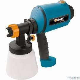 Bort BFP-400 Распылитель электрический [98291551] 400 Вт, 0,38 л/мин, емкость 900 мл, 2.4 кг, набор аксессуаров 5 шт