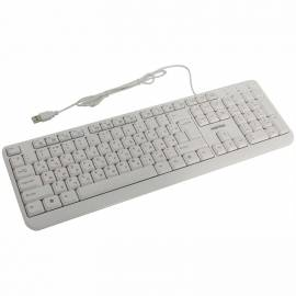 Клавиатура Smartbuy ONE 208, USB мультимедийная, белый