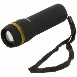 Фонарь Smartbuy SBF-306-3ААА, светодиодный, пластиковый, 1 LED, 3*ААА (не в комплекте), черный