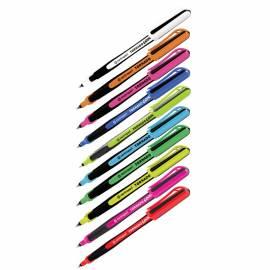 """Ручка-роллер Centropen """"Tornado Cool 4775"""" синяя, 0,3мм, грип, одноразовая, корпус ассорти"""