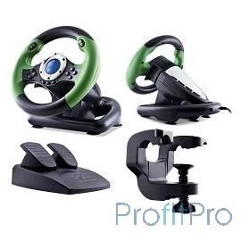 SVEN DRIFT [SV-063010] Игровой руль, Vibration Feedback, рулевое колесо, педали, 8поз.перекл, 10кн., USB