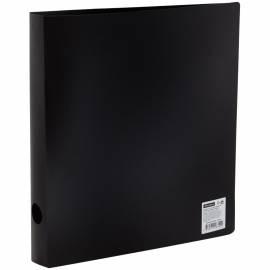 Папка на 2-х кольцах OfficeSpace, 40мм, 500мкм, черная