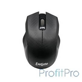 Exegate EX264100RUS Мышь Exegate SH-9027 black, optical, 3btn/scroll, 1000dpi, USB, шнур 1,5м., Color box