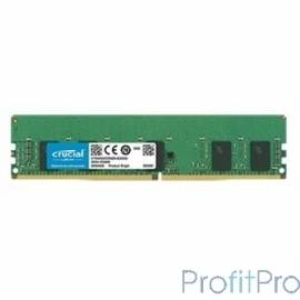 Crucial DDR4 DIMM 8Gb CT8G4RFS8266 PC4-21300, 2666MHz, ECC Reg, CL19
