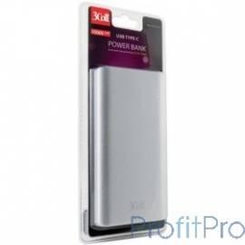 3Cott Внешний аккумулятор 3C-PB-100QC, QC3.0, 10000 мАч, вх.: micro USB 5В2А, Type-C 5В2А, вых: USB: 5В2.1А, Type-C: 5/9/12В2А,
