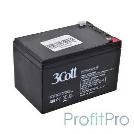 3Cott Аккумулятор 12V12Ah 0104363