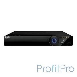 Плеер DVD BBK DVP034S,черный/темно-серый