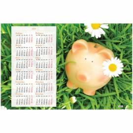 """Календарь настенный листовой А1, OfficeSpace """"Символ года"""", 2019г."""