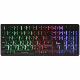 Клавиатура Smartbuy ONE 305, USB с подсветкой, мультимедийная, черный