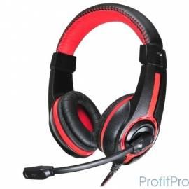 Oklick HS-L200 черный/красный 2м мониторы оголовье
