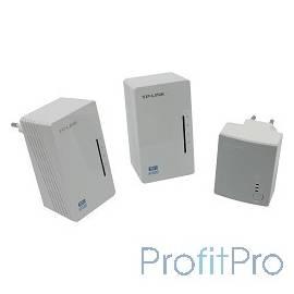TP-Link TL-WPA4220T KIT AV500 Комплект Wi-Fi Powerline адаптеров с 2 портами Ethernet