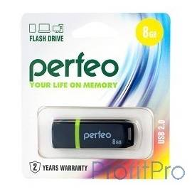 Perfeo USB Drive 16GB C11 Black PF-C11B016