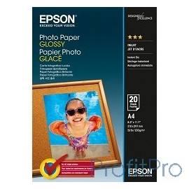 EPSON C13S042538 Photo Paper Glossy A4, 20 листов