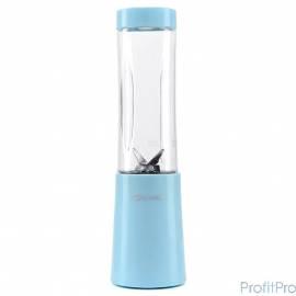 1311-2-КТ Блендер Kitfort Shake & Take, Мощность: 150 Вт.Емкость бутылки: 0,28. голубой