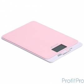 803-2-КТ Кухонные весы Kitfort, Максимальный вес: 5 кг. розовые