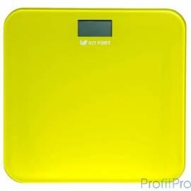 804-4-КТ Напольные весы Kitfort, Максимальный вес: 150 кг .жёлтые