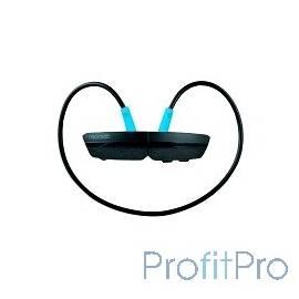 MICROLAB Наушники T967BT черно- синие (Bluetooth)