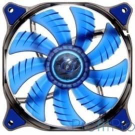 Cougar CFD140 BLUE Вентилятор CFD140 BLUE 140x 140x 25мм (40шт./кор, пит. от мат.платы и БП, синяя подсветка, 1000об/мин) (CF-D