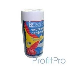 CLN 30102 DEFENDER Влажные чистящие салфетки для мониторов в пласт. тубе (100шт)