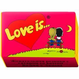 "Жевательная резинка ""Love is..."", вишня-лимон"