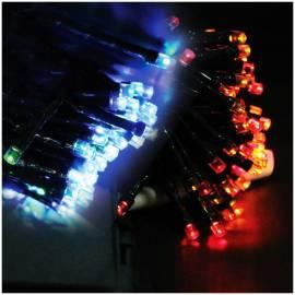 Электрогирлянда уличная светодиодная 180 ламп, многоцветный, 8 функций, на батарейках, 17,9м + 0,5м