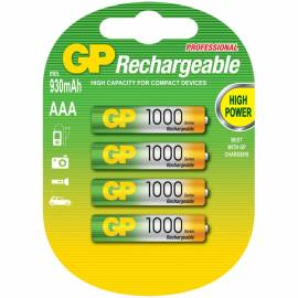 Аккумулятор HR03 GP 100AAAHC-UC4 1000mAh