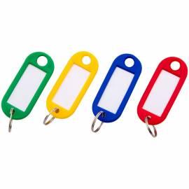 Набор брелоков для ключей OfficeSpace, 52мм, 10шт., ассорти