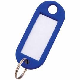 Набор брелоков для ключей OfficeSpace, 52мм, 10шт., синие
