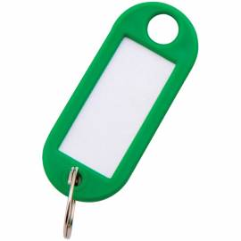 Набор брелоков для ключей OfficeSpace, 52мм, 10шт., зеленые