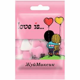Жевательный мармелад Love is…, холодок-малина, 25г