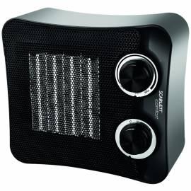 Тепловентилятор Scarlett SC-FH53K02, 1500Вт, керам.нагрев.элемент, 3 режима, черный