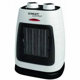 Тепловентилятор Scarlett SC-FH53K07, 1800Вт, керам.нагрев.элемент, 3 режима, вращение 90˚, б/черный