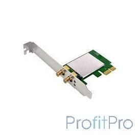 TOTOLINK N300PE Беспроводной PCI Express адаптер 300Мбит/с стандарта N с 2 съемными антеннами (Realtec)