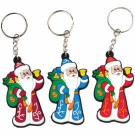 """Брелок сувенирный """"Дед Мороз с подарками"""" 6*3,5см"""