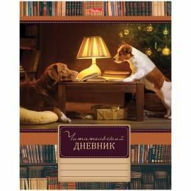 """Читательский дневник Hatber А5 48л. на скрепке """"Путешествия друзей"""""""
