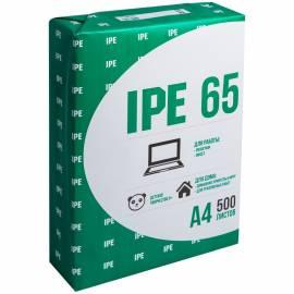 Бумага писчая IPE 65, А4, 500л., 65г/м2, 75%