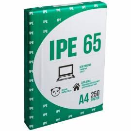 Бумага писчая IPE 65, А4, 250л., 65г/м2, 75%