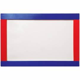 Доска магнитно-маркерная/меловая ArtSpace, настольная, 400*300мм, цветная