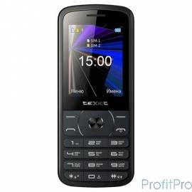 Texet 229D-TM мобильный телефон цвет черный