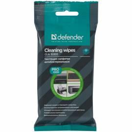 Салфетки чистящие влажные Defender PRO, универсальные, антибактериальные, в мягкой упаковке, 20шт.