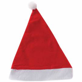 Колпак новогодний, красный, 28*35см
