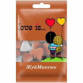 Жевательный мармелад Love is…, шоколадный пудинг, 25г