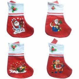 Подарочный Рождественский мешок в форме носка, 35см