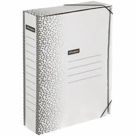 """Папка архивная из микрогофрокартона OfficeSpace """"Standard"""" плотная на резинках, 75мм, белая, 700л."""