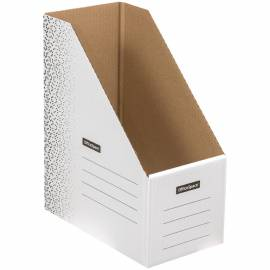 """Папка архивная из микрогофрокартона OfficeSpace """"Standard"""" плотная, на резинках, 100мм, белая, 900л"""