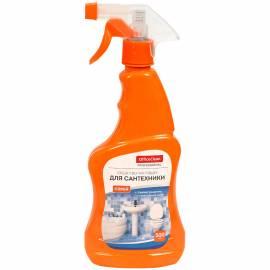 Чистящее средство для сантехники OfficeClean, WC (для чистки ванн и раковин), с курком, 500мл