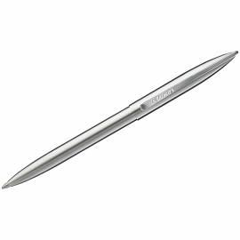 """Ручка шариковая Luxor """"Dyna"""" синяя, 1,0мм, корпус хром, кнопочный механизм"""