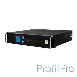 UPS CyberPower PR1000ELCDRT2U(A) 1000VA/900W USB/RJ11/45 (8 IEC)