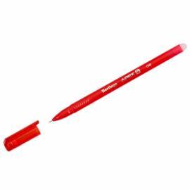 """Ручка гелевая стираемая Berlingo """"Apex E"""", красная, 0,5мм, трехгранная"""